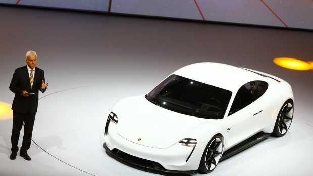 Porsche Mission E Concept Car Set to Beat Tesla Model S in Terms of Maximum Speed