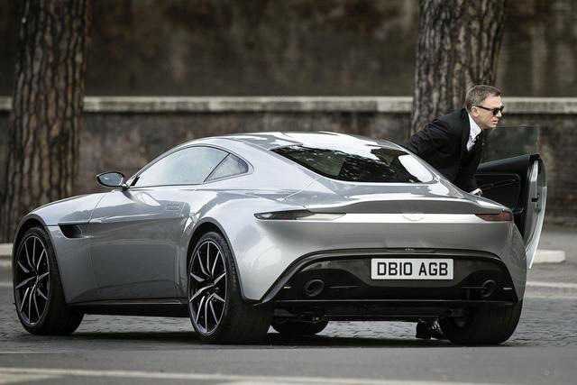 Aston Martin DB10 Designed Exclusively for Spectre: James Bond Latest Release
