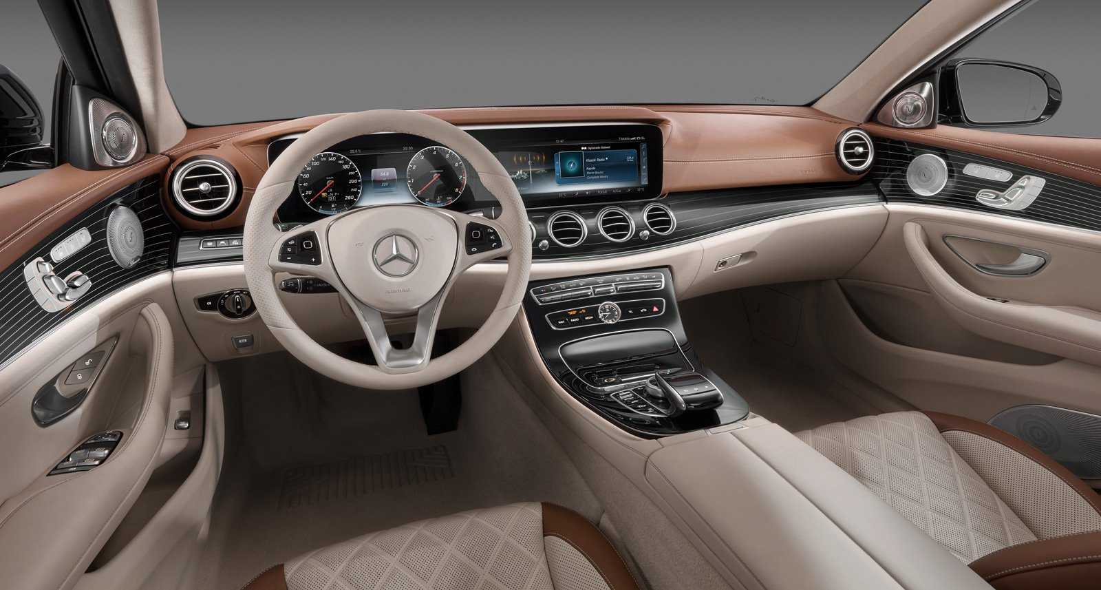 2017 Mercedes E-Class Interiors is Extremely Stylish and Truly Next Gen