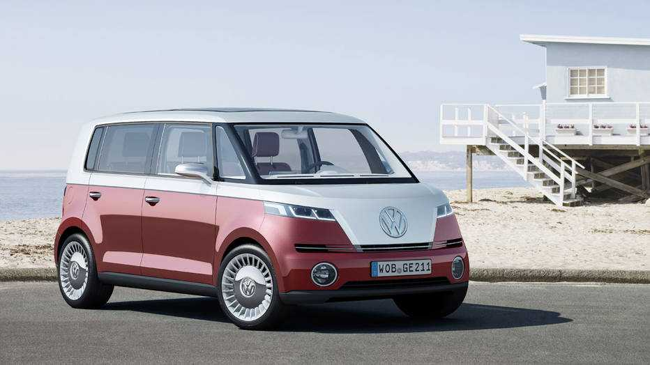 Volkswagen is Working on an Electric Microbus Concept