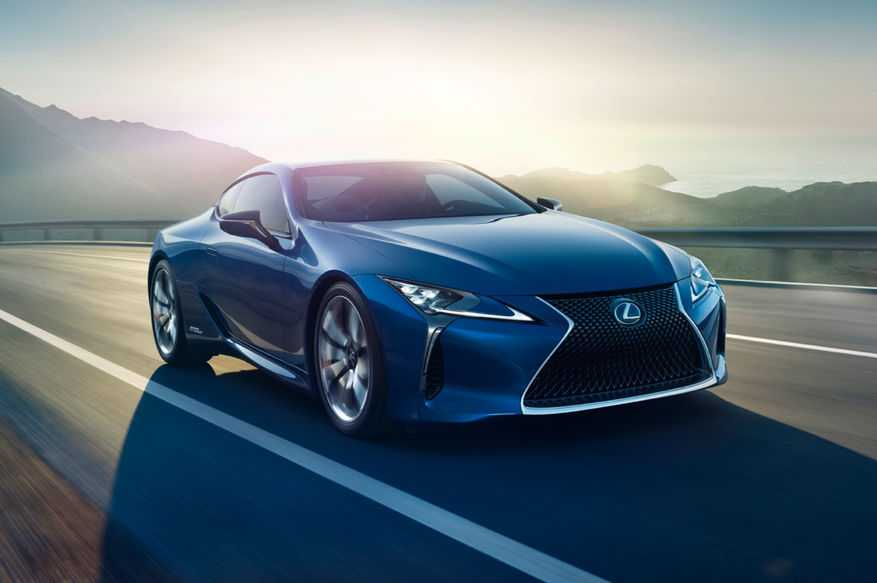 Lexus LC500h is a Hybrid Luxury Coupe, Coming to Geneva Show