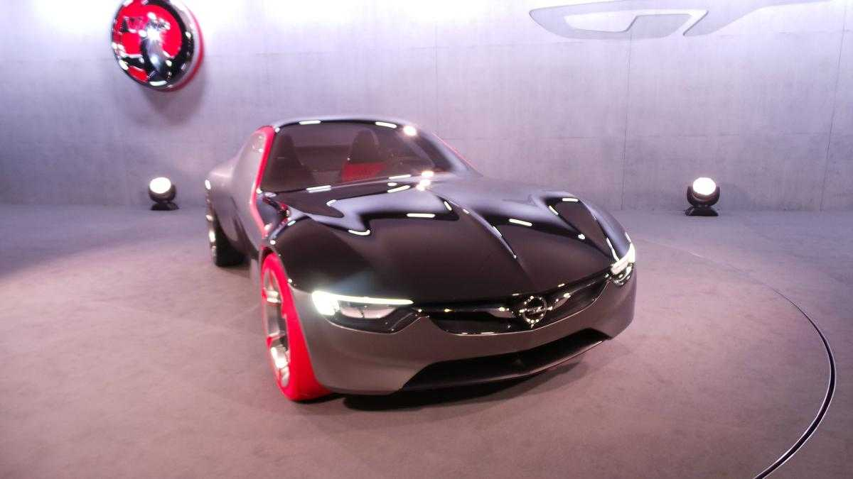 Vauxhall GT Concept is the Winner at Geneva Motor Show 2016