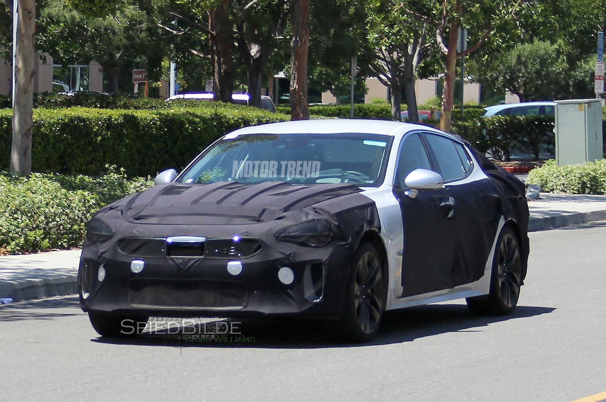 Kia GT Prototype Spy Pictures Emerge From Testing Phase