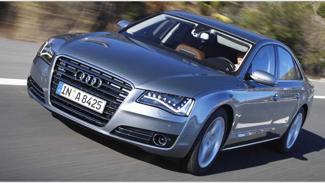 Audi A8 Gets Luxury Features and Longer Design to Beat Maybach