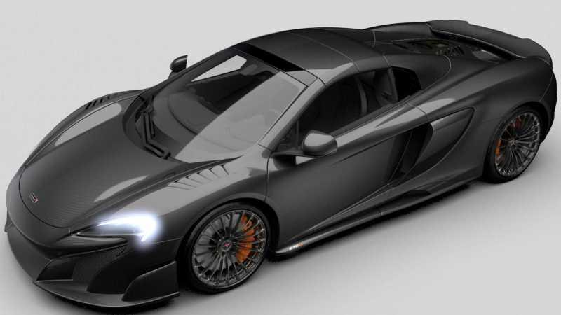 2016 McLaren Carbon Series 675LT Spider