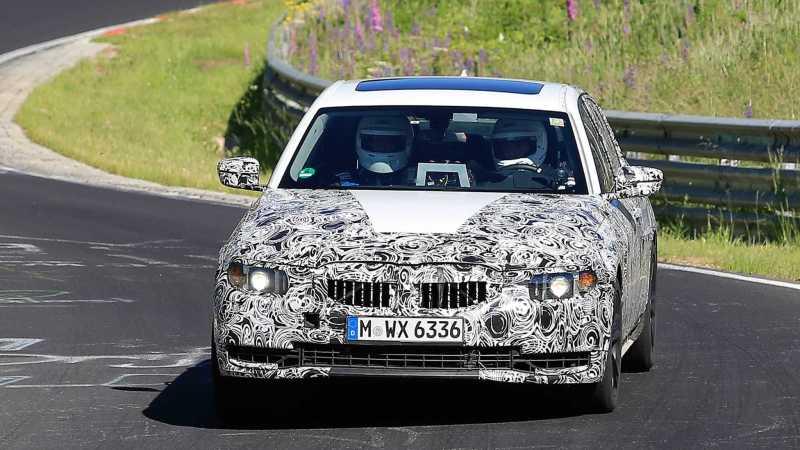 2018 BMW 3 Series Spy