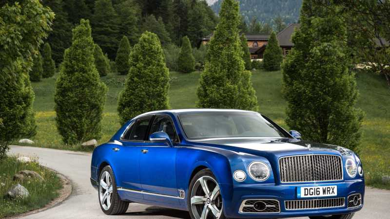 2017 Bentley Mulsanne Speed front