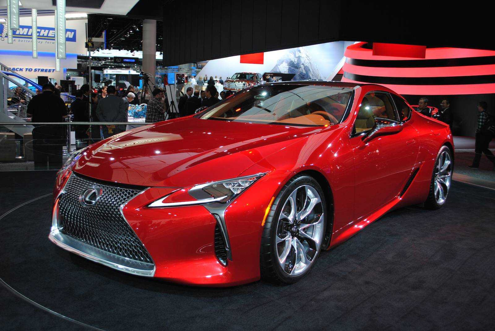 2018 Lexus LC 500 Could Start at $90,000; Makes Even More Power