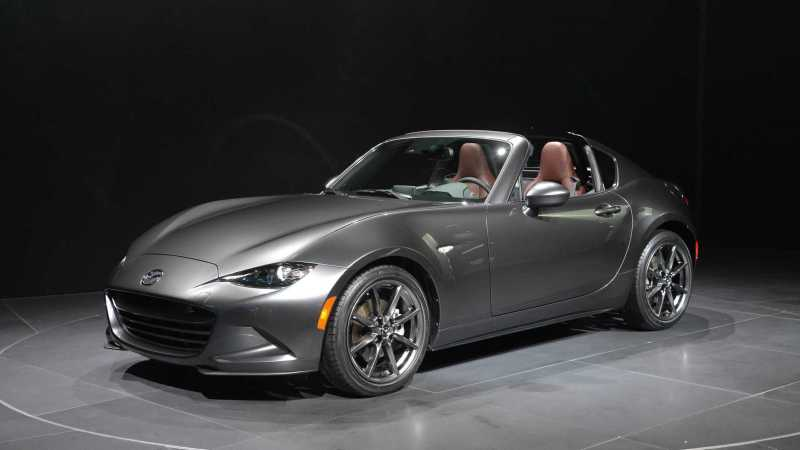Mazda MX-5 RF Retractable Fastback
