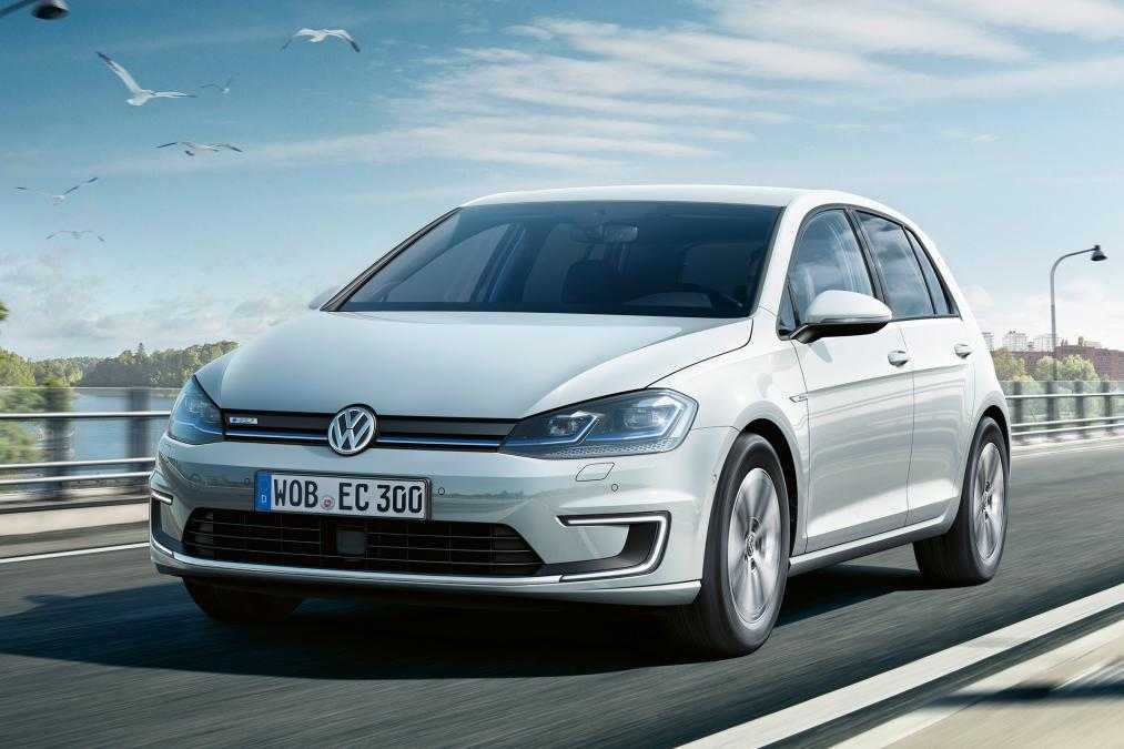 2017 Volkswagen e-Golf Gets Improved Performance and Better Range
