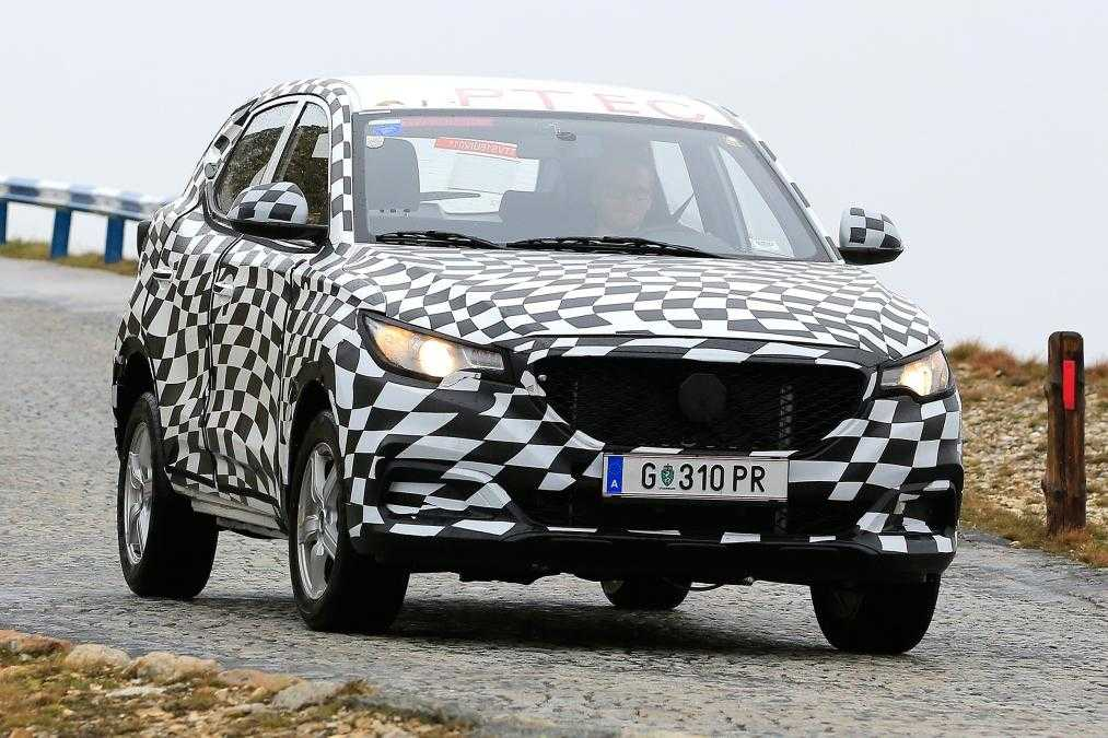 Spy Shots of MG ZS Leaked Online, Specs Revealed
