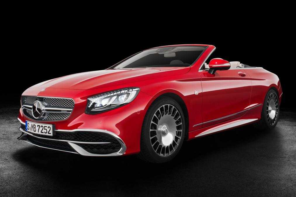Mercedes Maybach S650 Luxury Convertible Launched at LA with €300,000 Price Tag