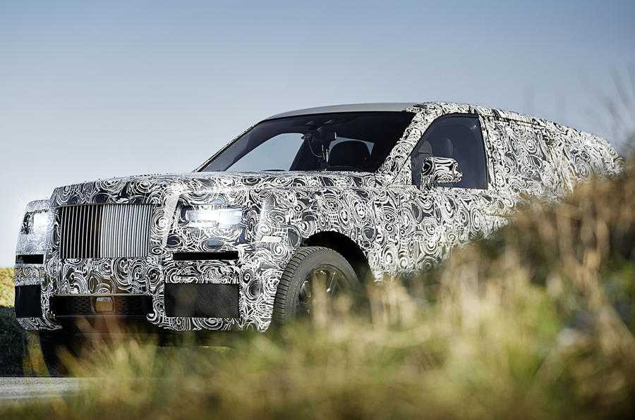 Rolls Royce First SUV Cullinan Revealed in First Set of Pictures