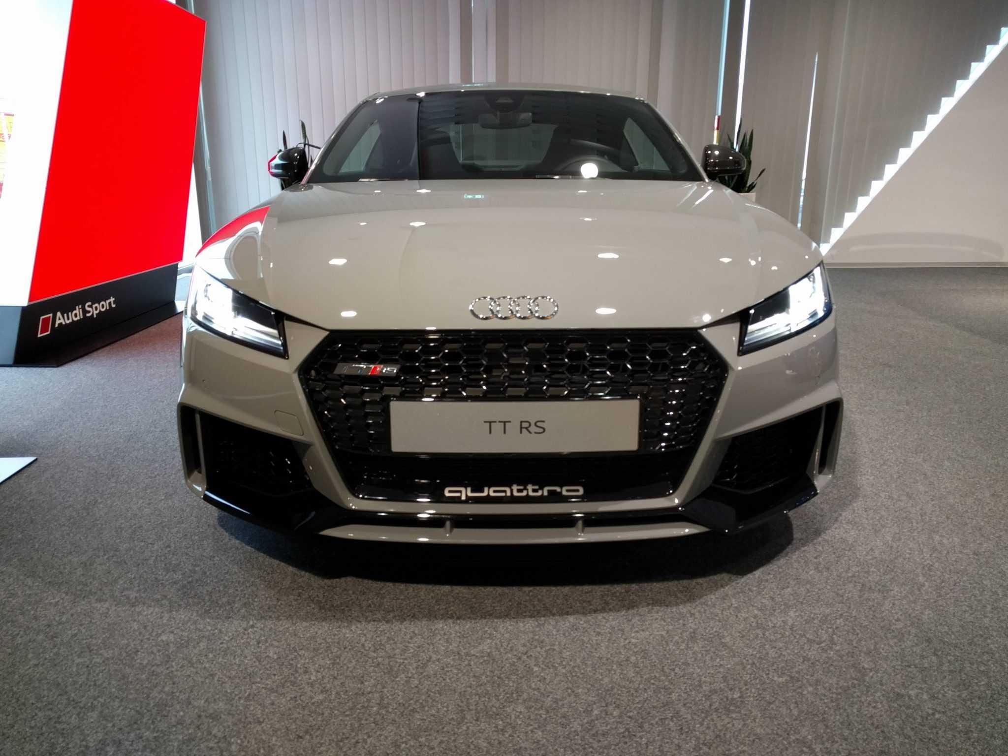 2018 Audi TT-RS Nardo Grey Variant Picture Revealed in Reddit Forum
