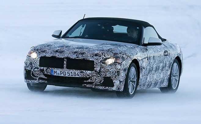 2018 BMW Z5 Spy Photos Show a Camouflaged Car, Closer to Production