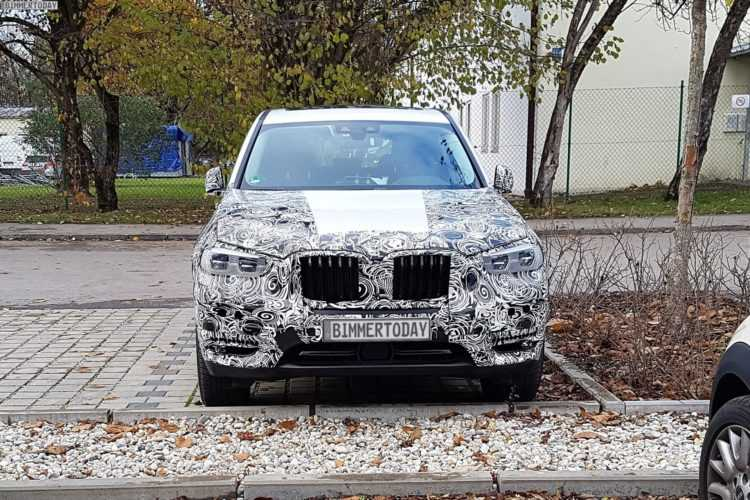 GO1 BMW X3 2018 Enters Production August 2017 : Bavarian Big Seller Arriving Europe in November and US Early 2018