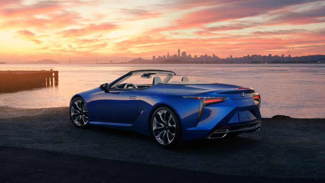 2021 Lexus LC 500 Convertible Pricing Increased by $8K for the Base Model