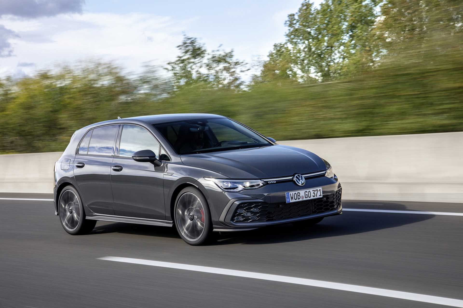 2021 Volkswagen Golf GTD Diesel UK Pricing Revealed, Delivers 197 HP