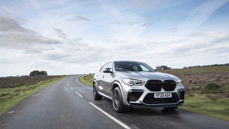 2020 BMW X6 M Revealed in Official Photoshoot Images
