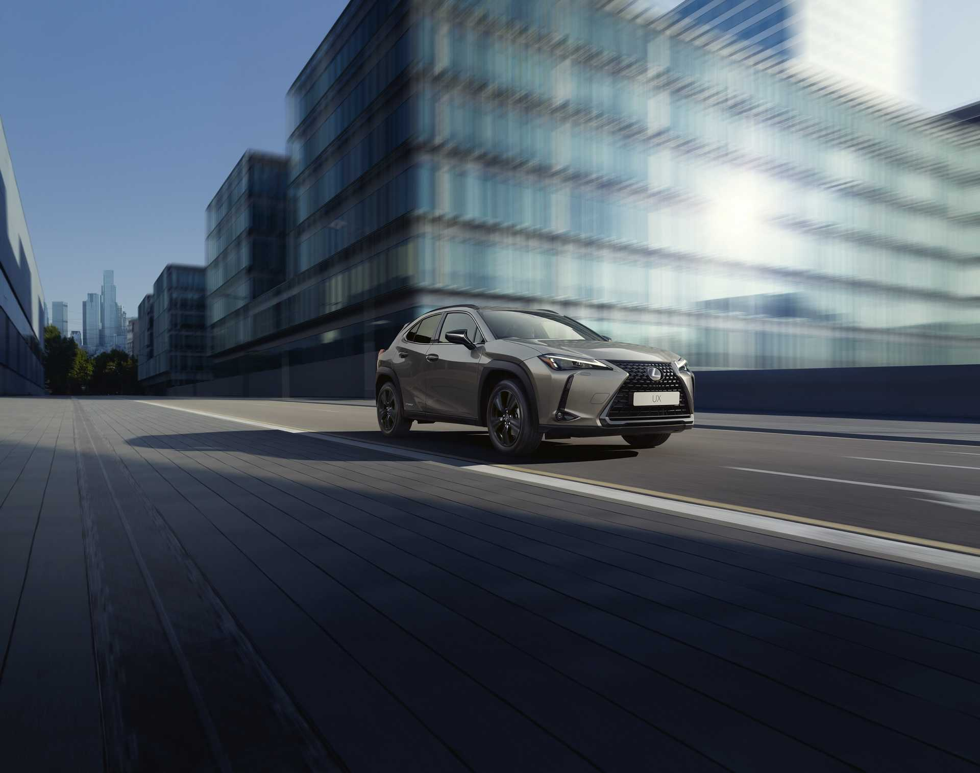2021 Lexus UX 250h Gets a Stylish and Premium Upgrade in New Sports Edition