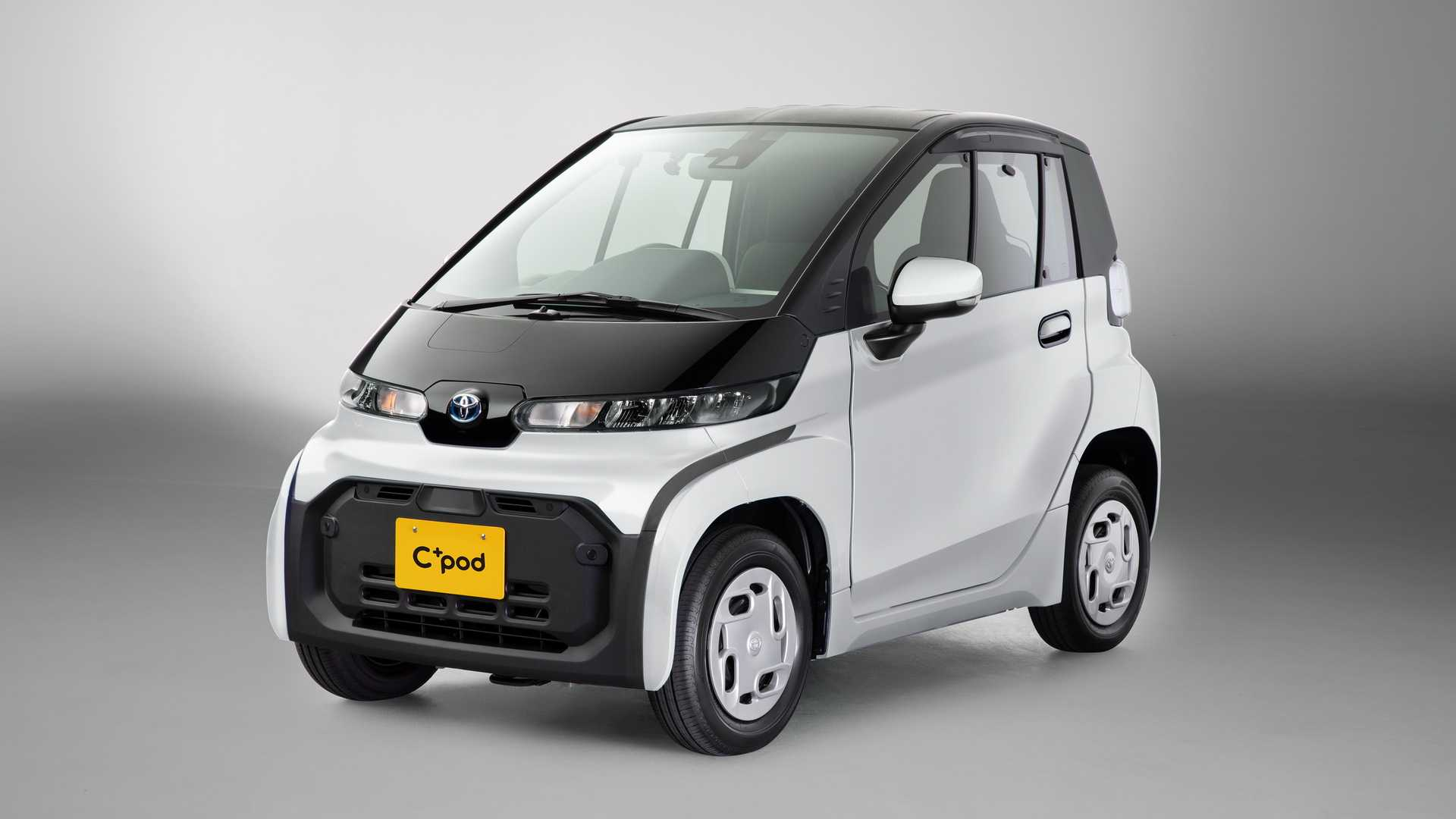 2021 Toyota C+Pod is a Compact, City Driving EV Solution