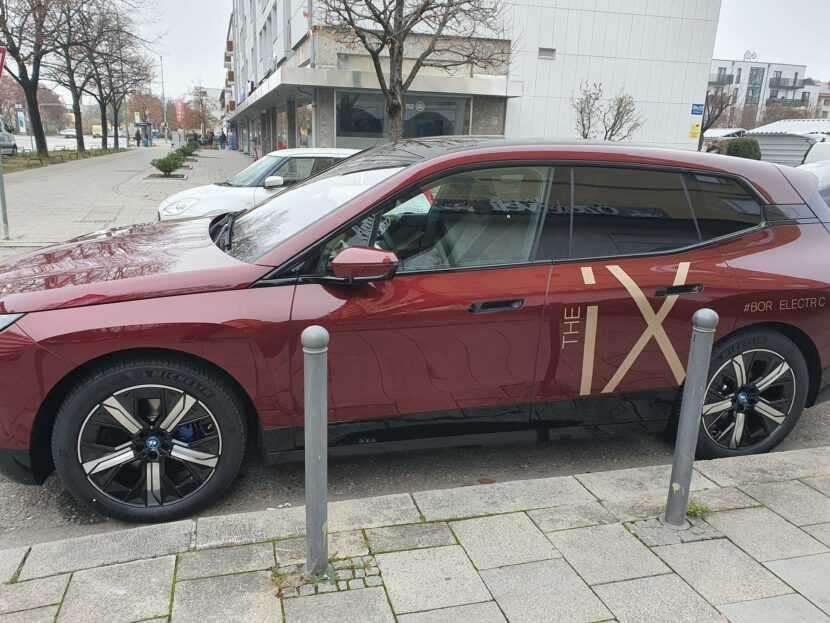 2022 BMW iX Electric SAV is Underway, Spotted without Camouflage