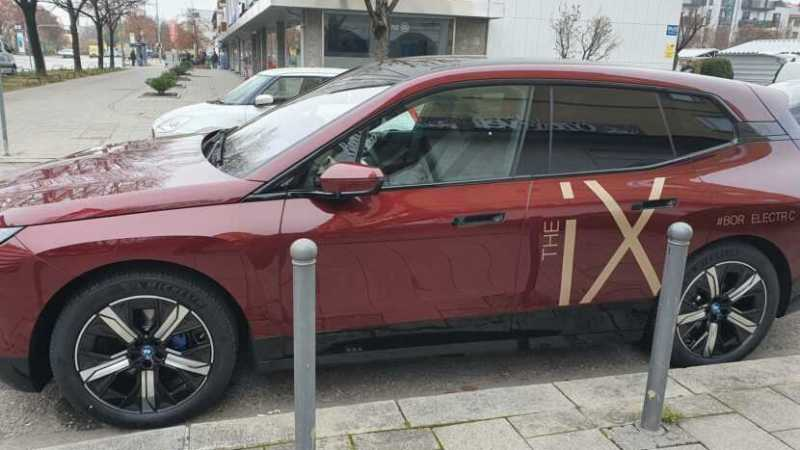 2022 BMW iX Electric SAV