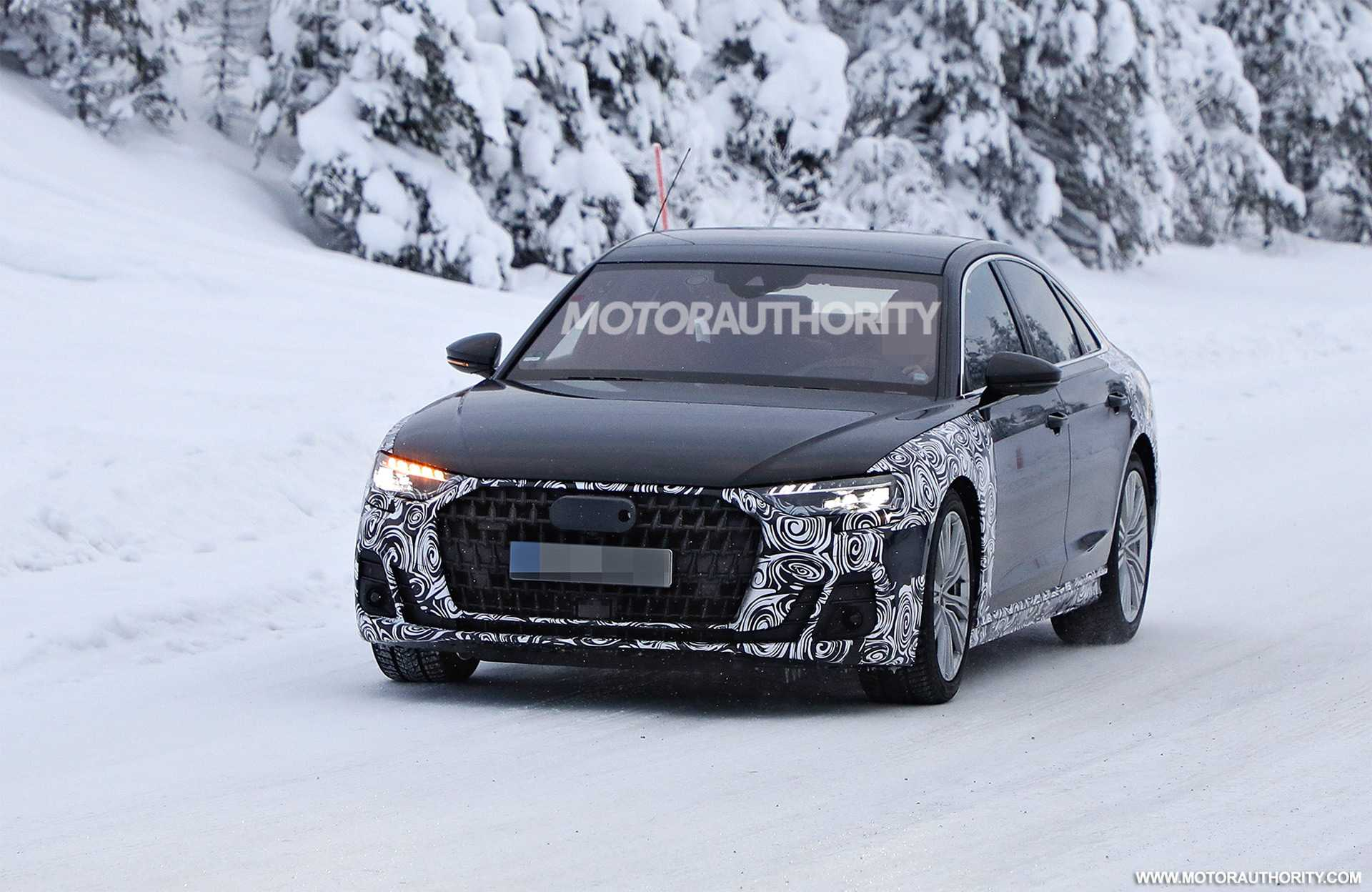 2022 Audi A8 is a Maybach Rival, Mid-Life Facelift Features Listed