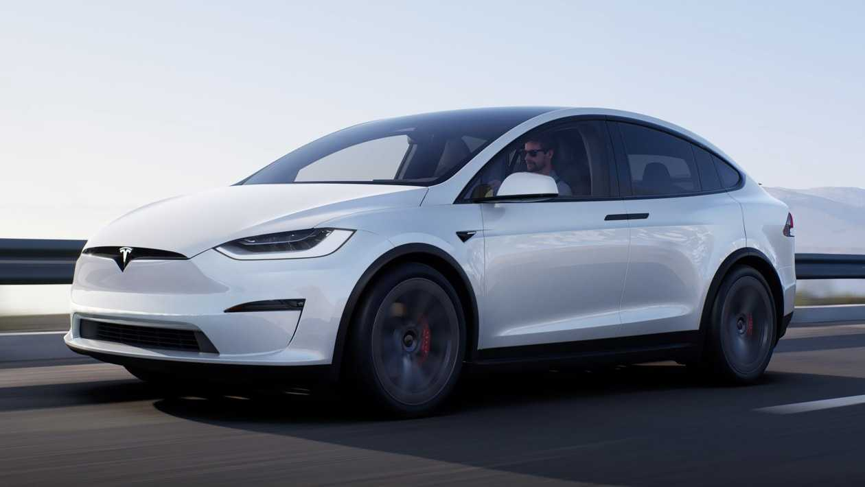 Tesla Model X 2021 Edition Launched, Facelifted Interior Combined with 1,006bhp