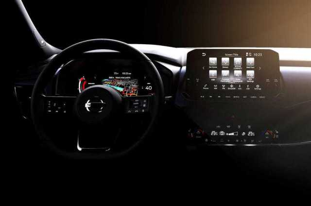 2021 Nissan Qashqai Interior Official Render