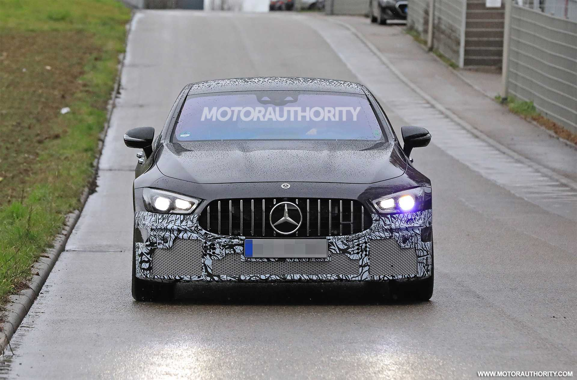 2022 Mercedes Benz AMG GT73e Four-Door PHEV Coming Soon, Spy Shots In