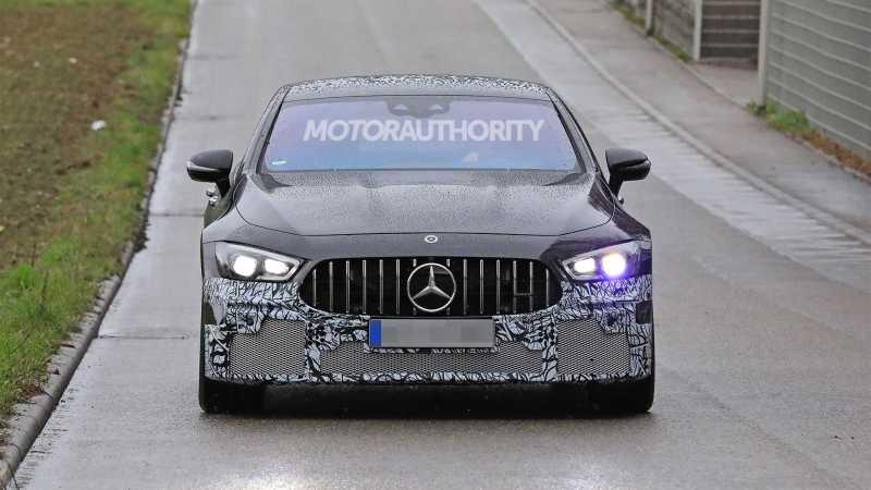 Mercedes Benz AMG spy shots