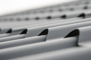 a closeup shot of a plain roof