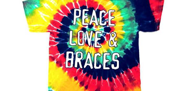 Tied Dyed Orthodontic T-Shirts