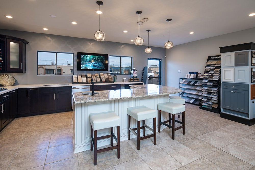 Design studio and kitchen display