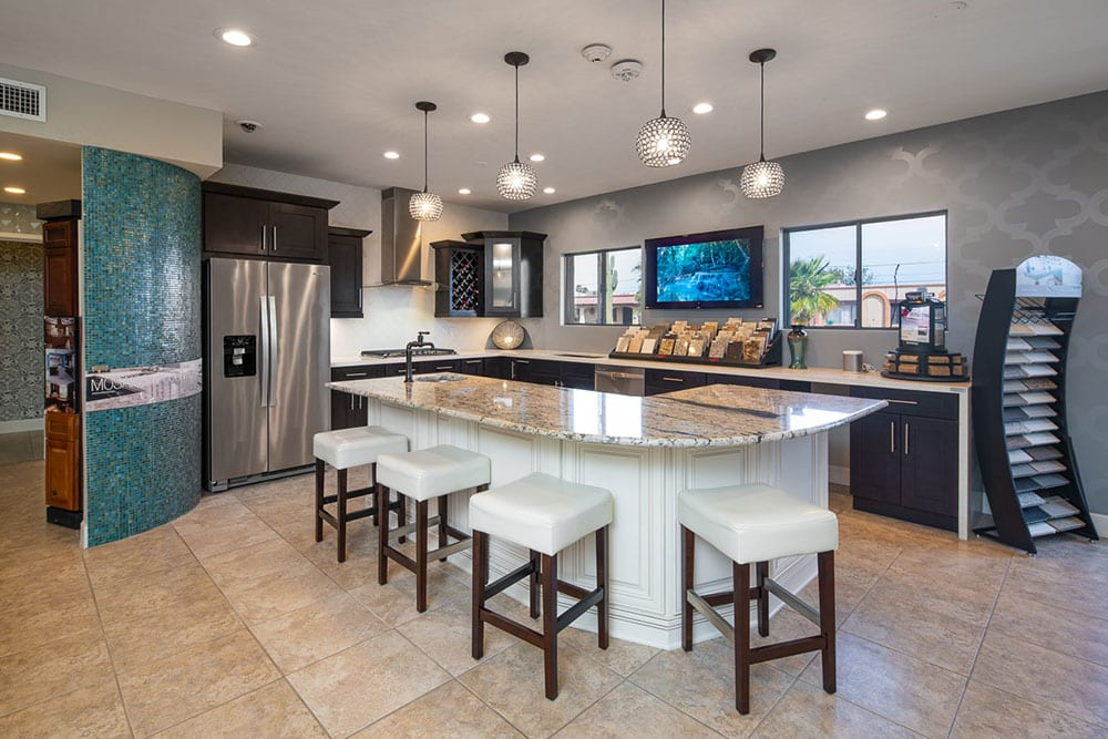 Kitchen display in yourson contracting