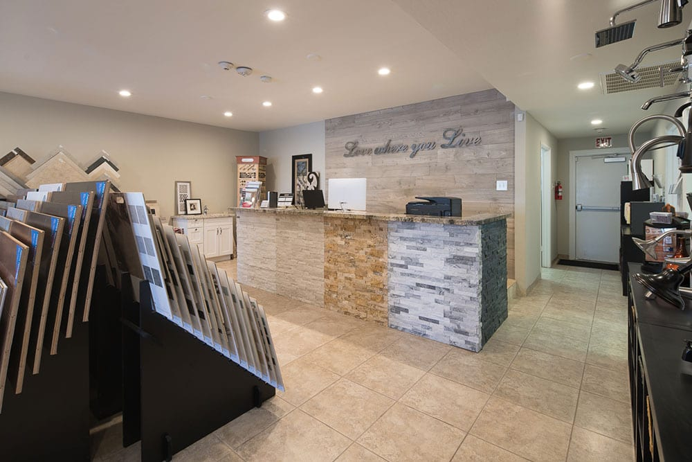Front of Yourson reception desk