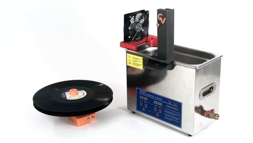 Ultrasonic record cleaning machines are one of the best ways to clean vinyl records.