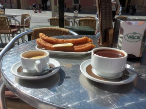 Murcia Churros con Chocolate