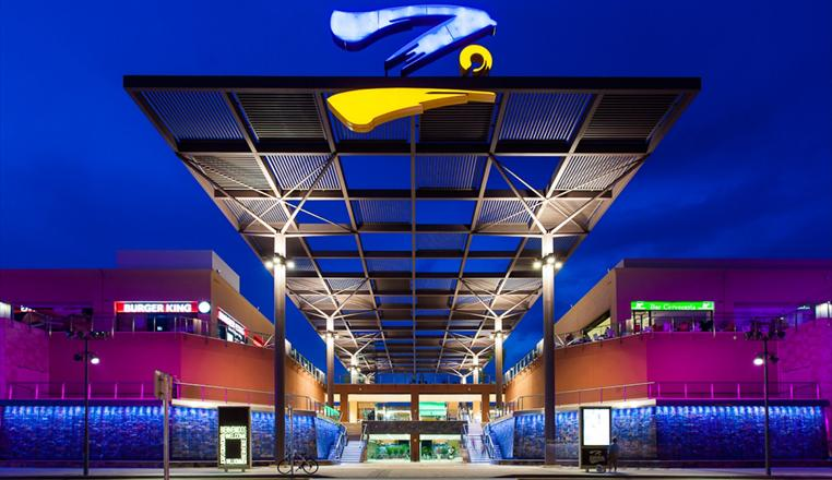 Zenia Boulevard Shopping Centre.