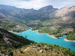 Guadalest dam