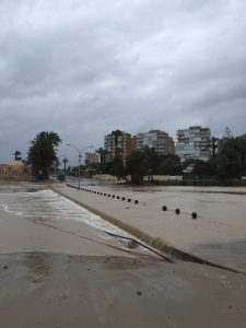 Flood and Heavy Storm in Campoamor Orihuela Costa