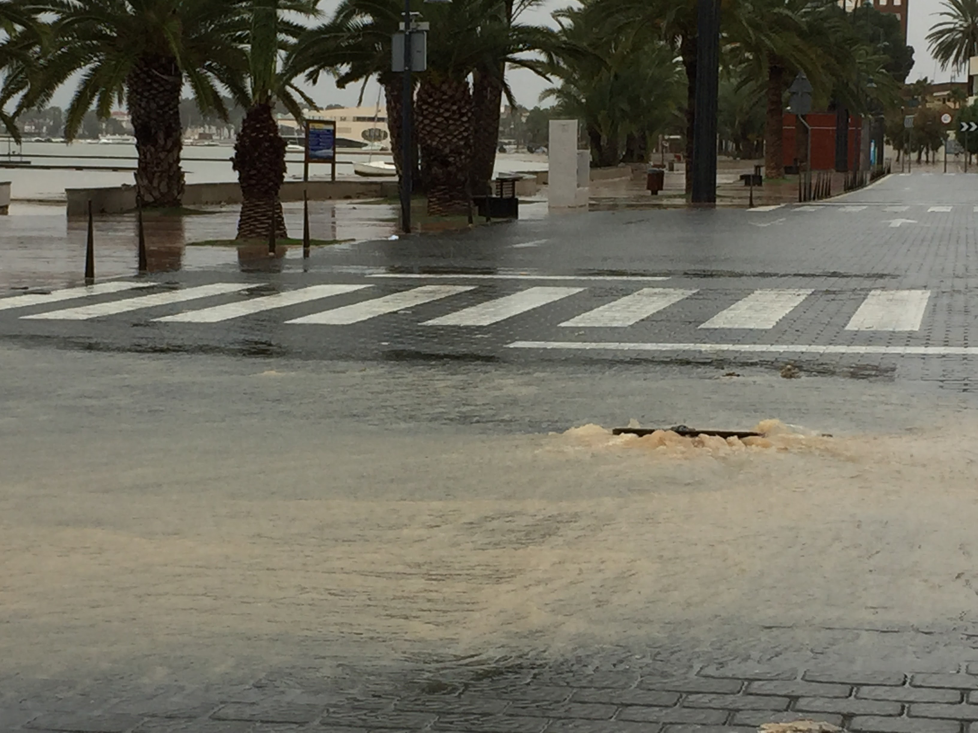 Flood and heavy storm in the Alicante Murcia region  - Your