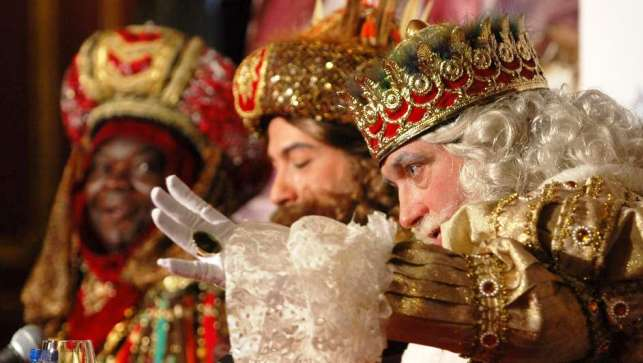Spanish traditions Los Reyes