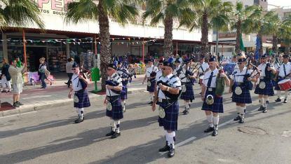 St Patrick's day Cabo Roig Cabo Roig Parade