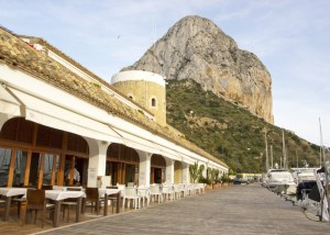 Calpe bicycle tourism