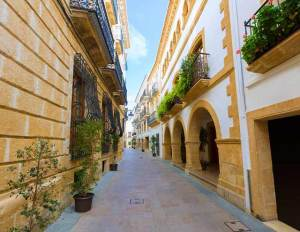 Javea Historic center