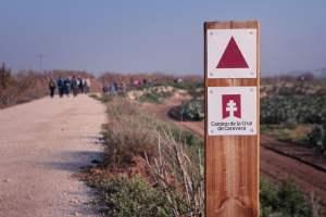 Camino de la Cruz de Caravaca.