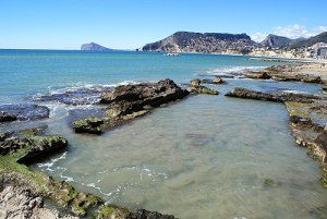 "Calpe "" Queens Bath"""