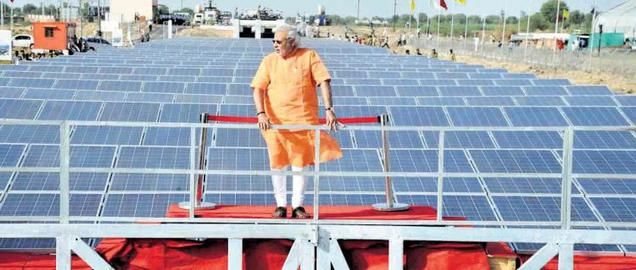 Narendra Modi uplifts Canal Solar Plant Concept in India